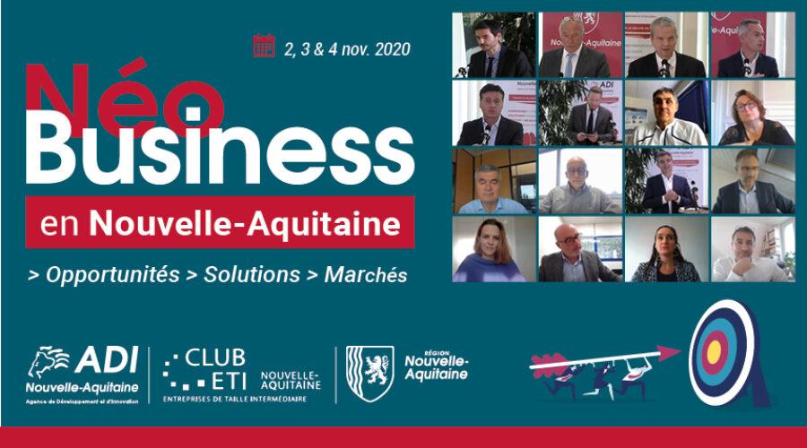 Retour sur l'événement NÉO BUSINESS en Nouvelle-Aquitaine