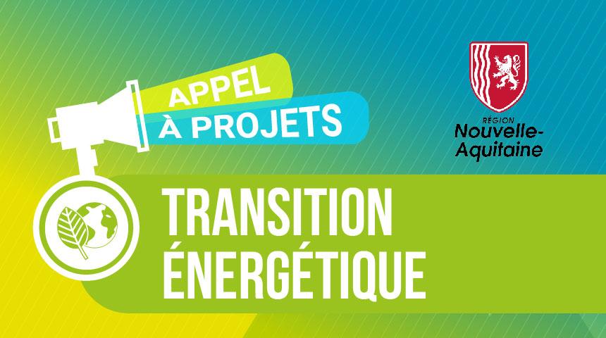 AAP Transition énergétique Région