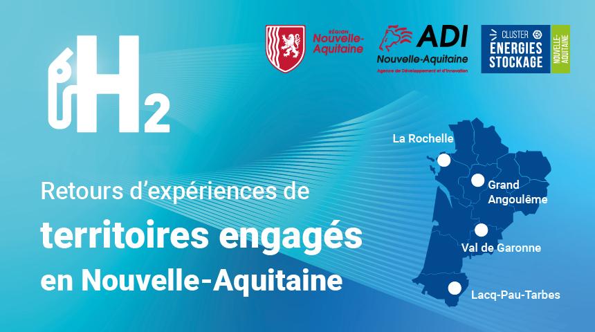 Territoires engagés dans l'hydrogène en Nouvelle-Aquitaine