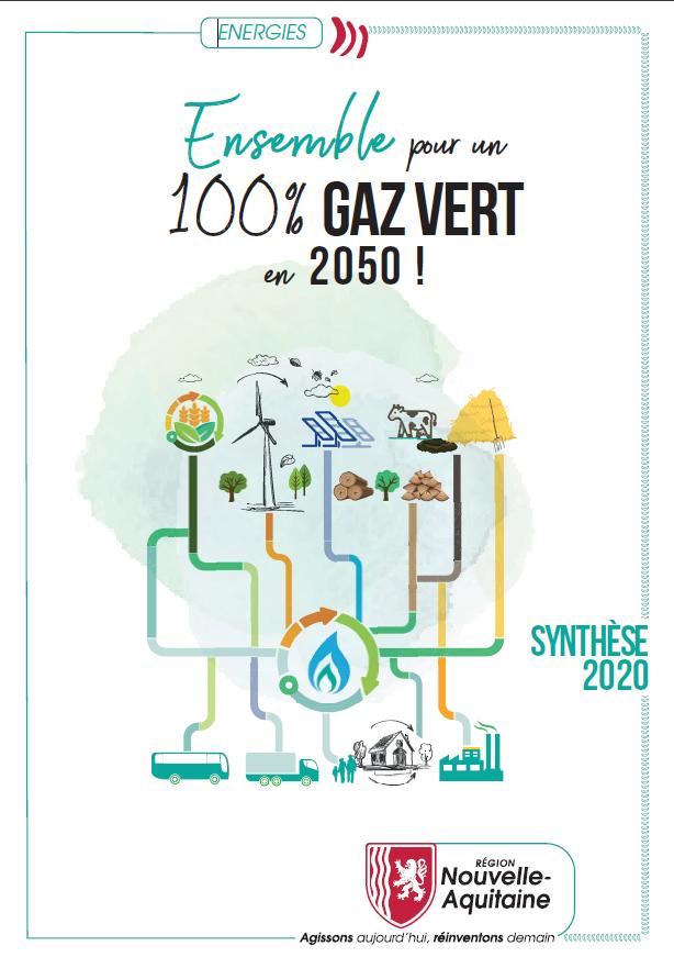 Étude 100% gaz vert en 2050