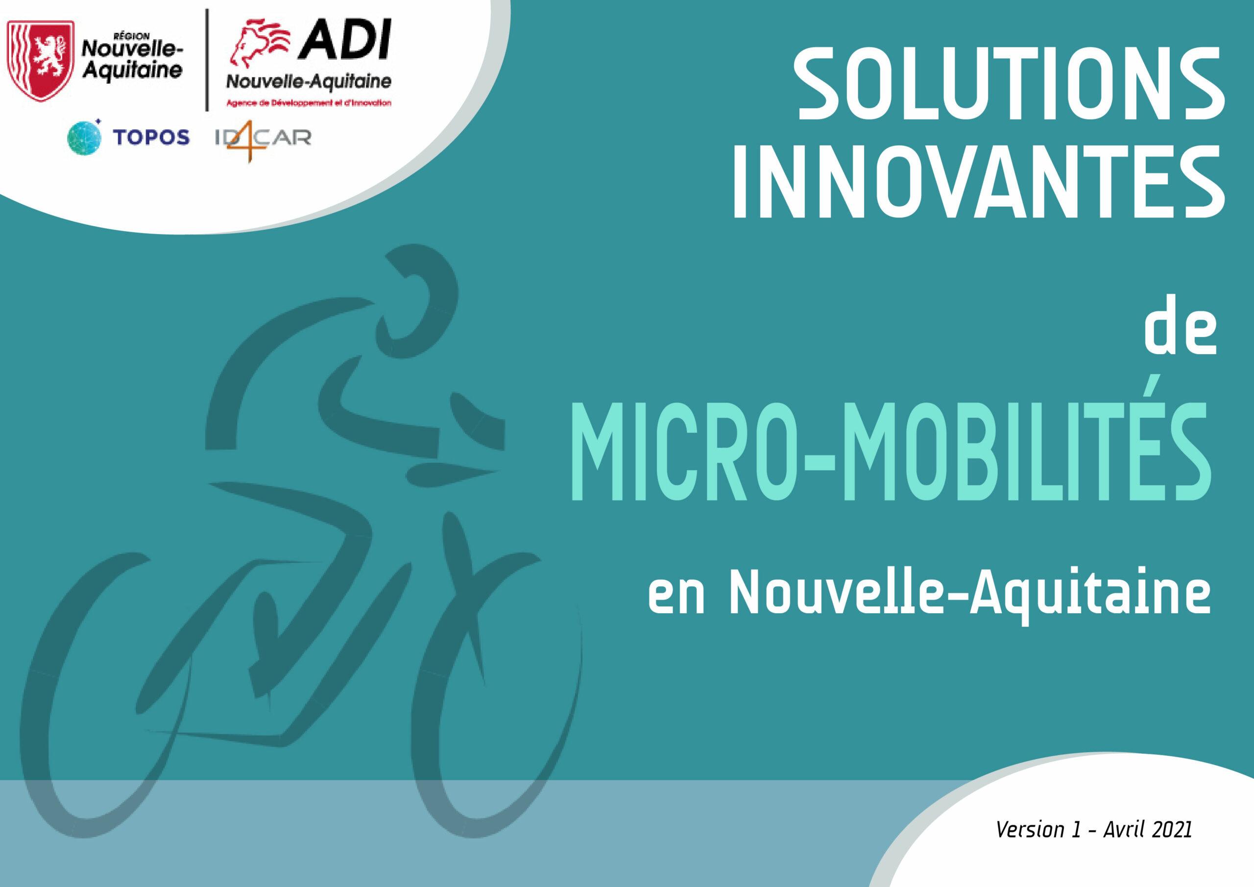 Solutions innovantes de Micro-Mobilités en Nouvelle-Aquitaine