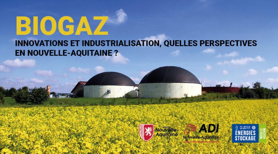 WEBINAIRE Biogaz : innovations et industrialisation, quelles perspectives en Nouvelle-Aquitaine ?