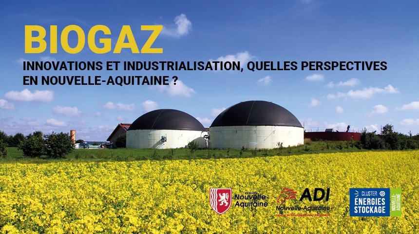 Biogaz en Nouvelle-Aquitaine