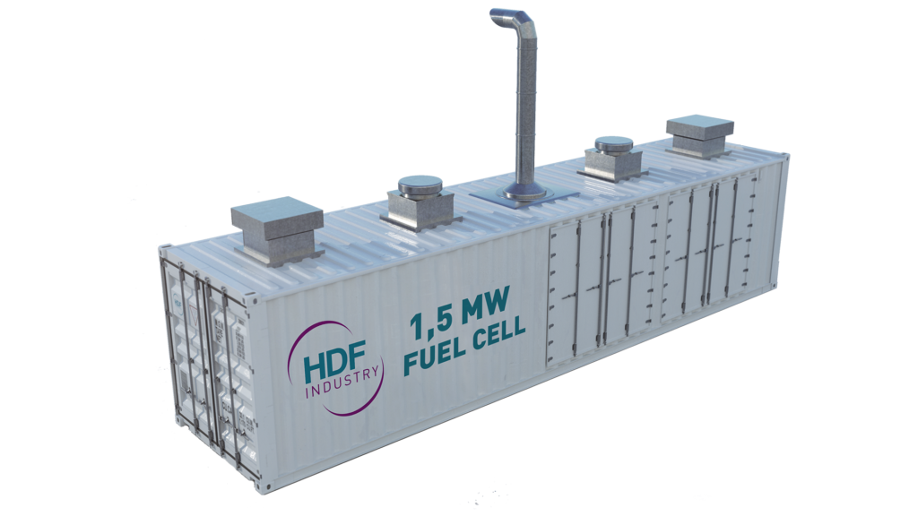 HDF Industry - Container 1,5 MW