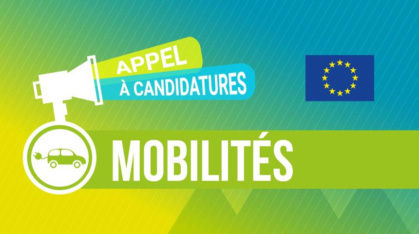 Appel à candidatures Mobilités Europe